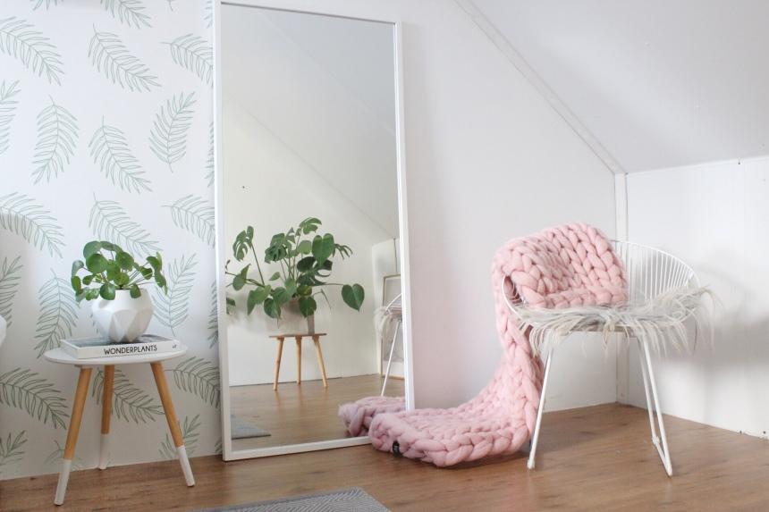 Leuk Behang Slaapkamer : Slaapkamer lente make over